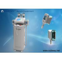 Wholesale 5 handles 4 techology cryolipolysis fast slimming machine cool therapy device from china suppliers