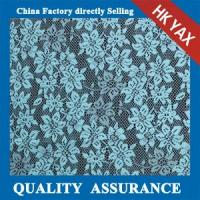 Wholesale 2014 china factory cheap The new little flower jacquard heavy lace fabric in  light blue from china suppliers
