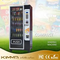 China Compact Dried Fruit Cold Drinking Vending Machine Dispenser With Card Reader KVM-G636 on sale