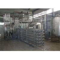 Wholesale 304 Stainless Steel Dairy Milk Processing Equipment / Fruit Juice Processing Line from china suppliers