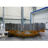 Best Carburizing Furnace Gear Shaft Forging Flange OEM / Forged Ring Gear Crusher 42CrMo4 wholesale