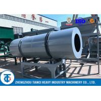 Compound NPK Fertilizer Coating Equipment with Rubber / Acid - Resistant SS Liner for sale
