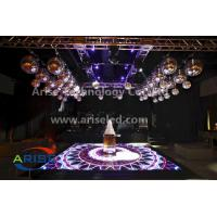 Wholesale P10.417 LED Floor Tiles Durable LED Flooring Tiles LED Video Display for Club and Dance Fl from china suppliers