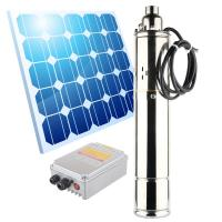 Wholesale deep well Submersible solar waterpump for agriculture solar water pump 24v / 36v / 48v / 72v dc solar water pump from china suppliers