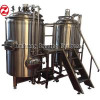 China 500L Beer Production Line , Stainless Steel All In One Beer Brewing System For Craft Beer for sale