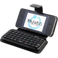 ODM Mini 49 Keys Iphone 4 Sliding Bluetooth Wireless Keyboard Case for Chatting / Games for sale