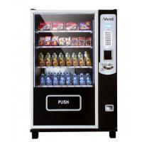 Wholesale Black outdoor beverage vending machine , most popular product vending machines from china suppliers