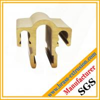 Quality electrical components brass extrusion profile for sale