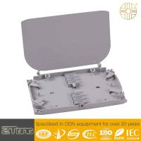 Wholesale Two Layer Structure Fiber Management Tray With FC/SC/LC Adaptor Rainproof from china suppliers