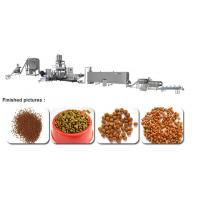 Wholesale Dog Cat Pet Food Making Machine / Extruder Food Grade Stainless Steel 304 22 × 2 × 4m from china suppliers