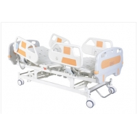 China Hospital Clinic ABS Handrails 5 Function Electric Hospital Bed on sale