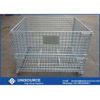 Wholesale Logistic Transporting Steel Wire Cage Stackable Storage For Wine Bottle from china suppliers