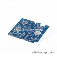 China HASL 1 OZ 0.6mm  4 layer gold immersion PCB printed circuit Board Layer Squre Board For industrial Control for sale