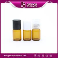 Wholesale high quality 2ml amber roll on bottle and empty glass roll on bottle from china suppliers