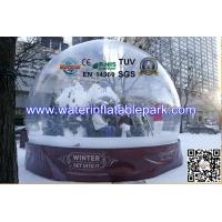 Wholesale Christmas 1.0mm PVC Inflatable Bubble Tent Transparent For Advertising from china suppliers