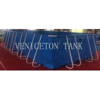 collapsible  folding Custom Square 20000L fish farming tank and Swimming pool for sale