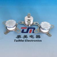 Wholesale Manually Reset Bimetal Thermostat Temperature Controlled Switch from china suppliers
