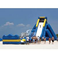 Wholesale Giant hippo inflatable water slide for adults with pool ended from China inflatable manufacturer from china suppliers