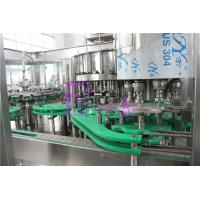 5Kw PET Bottle Flavor Juice Production Line 4 in 1 Liquid Filling Machinery