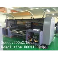 Best Cotton / Silk / Poly Fabric Digital Printer Kyocera Head With High Resolution wholesale