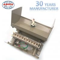 Buy cheap 10 Pairs Metal Distribution Box With Earthing System with LSA Profile Module from wholesalers