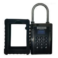 China IC CARD GPS Tracking Padlock Long Working Time 5~13 Days 111*82*42mm on sale