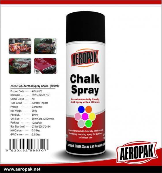 Aeropak chalk abstract reflective spray paint OEM