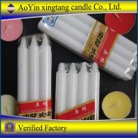 China 25g Cotonou white candles to Benin Market (Daisy 8613126126515) on sale