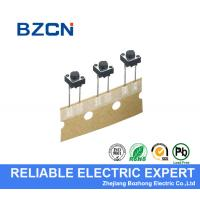 China Round Long Foot PCB Tactile Switch , Momentary Push Button Switch 12 V for sale