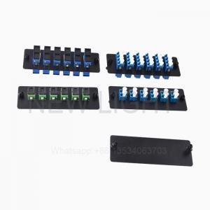 China LC SC ST FC E2000 Fiber Optic Patch Panel 48 Port Fiber Patch Panel Enclosure on sale