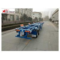 Wholesale 2/3 Axles Port Yard Terminal Trailer Heavy Duty Tandem Leaf Spring Or Air Suspension from china suppliers