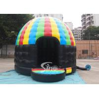 Wholesale Kids N adults party inflatable disco dome bouncy castle made of lead free pvc tarpaulin from china suppliers