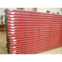 3.5M Steel Scaffold Step Ladder Single Section , Straight Compact Extension Ladder