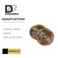 Buy cheap Galalith Polyester Buttons Sew-On Buttons 4 Holes Buttons & Accessories from wholesalers