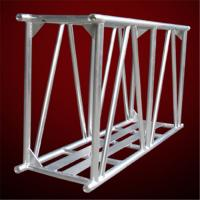 Red Aluminum Spigot Truss Stage Trussing , Exhibit Stage Truss Systems 34kg / m