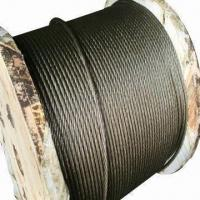 Wholesale Ungalvanized Steel Wire Ropes with 6 to 64mm Diameter from china suppliers