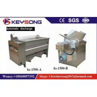 Wholesale Small Scale Food Frying Machine For Fried Snacks Chips Production Line No Oil Smoke from china suppliers