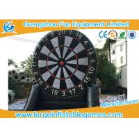 Wholesale Single Side Commercial Inflatable Dart Board Dart Games For Kids Games 4mH from china suppliers