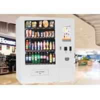 China 22 inch Interactive Touch Screen Electronic Vending Machine for Beverage / Snacks / Cigarette on sale