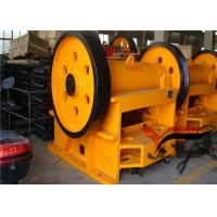 China Quarry Small Jaw Crusher Machine , Diesel Engine Jaw Crusher PE 250 X 400 on sale