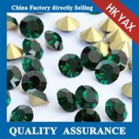 Wholesale point back chaton rhinestones;good quality point back rhinestones; chaton point back rhinestone from china suppliers