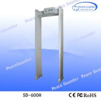 Wholesale SD-600H Multi-zones Chinese security Body Temperature Scanner door frame metal detector price for sale from china suppliers