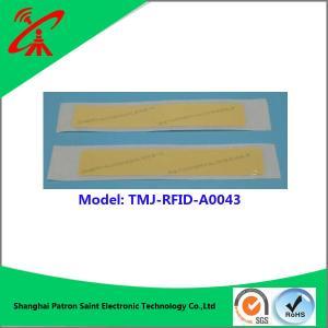 China UHF RFID sticker  860-960MHZ Customized rfid nfc tag / label / sticker on sale