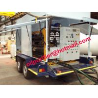 Car wheel mobile transformer oil regenerate machine,insulation oil treatment online for sale