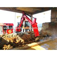 China China Factory Red Color Steel Material Hydraulic Rockbreaker Booms Systems for sale