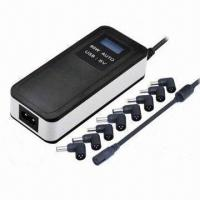 Wholesale 90W Auto Universal Laptop Battery Chargers with USB 5V/2A, LCD display from china suppliers