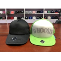 Wholesale China Hot sale Flat brim custom logo rhinestone blank 5panel snapback hats caps from china suppliers