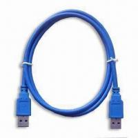Wholesale USB3.0 A Type Male to A Type Male Cable with 4.8Gbps Transfer Rate, Available in Various Colors from china suppliers