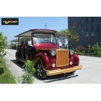 Luxury Antique 12 Seater Classic Electric Cars Lead Acid Cell Battery Operated for sale