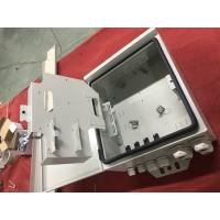 Wholesale Metal 48 Port Fiber Optic Terminal Box / Waterproof Fiber Optic Termination Box from china suppliers